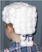 Preschool Crafts for Kids*: President's Day George Washington Wig Craft