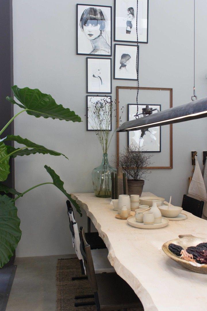 Eetkamer vt wonen&designbeurs #vtwonen #eetkamer #eettafel #scandinavischwonen #scandinavian #dinningroom