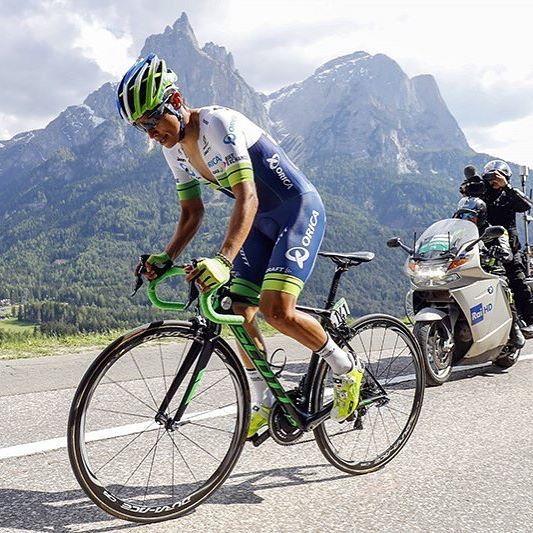 Esteban Chavez stage 15 Giro d'Italia 2016 by Graham Watson