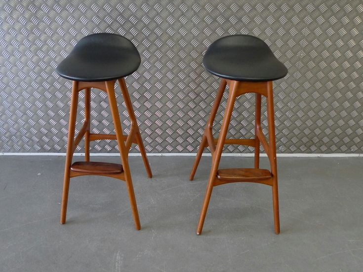 Potential Bar Stools - Eric Buck Mid Century Modern Counter Height Stools