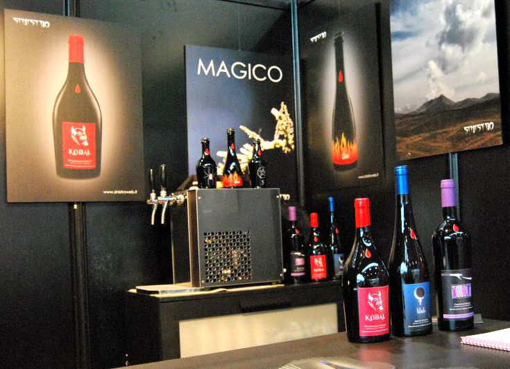 Sinistro's wines at RHEX Rimini Horeca EXpo 2014