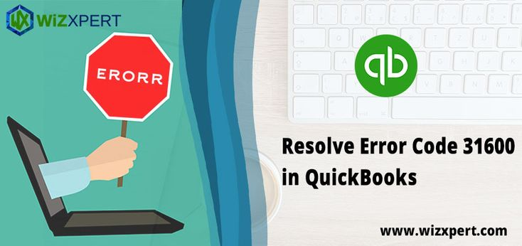 you are encountered Error Code 31600 in QuickBooks, your QuickBooks stopped working and you are unable to do your work. There are several reasons behind the error but usually, it occurs while adding or removing accountants in QuickBooks Online.
