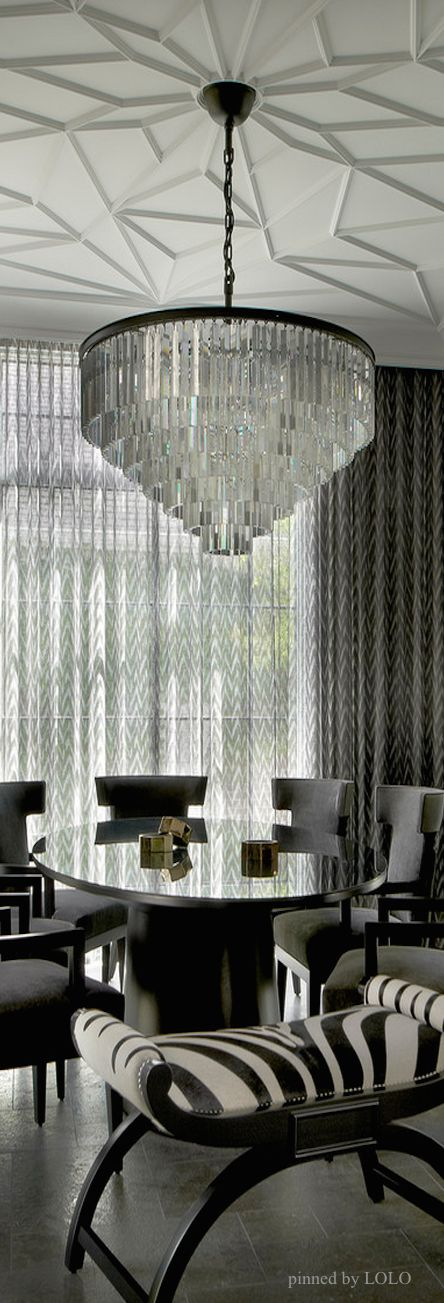 Love This Ceiling Design Will TryDining Room Inspirations Luxury Homes Fruniture High End Furniture Dining Tables