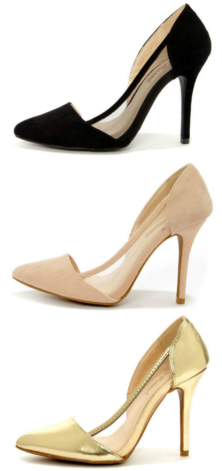 Mesh D'Orsay Heels | Blog LuLu*s