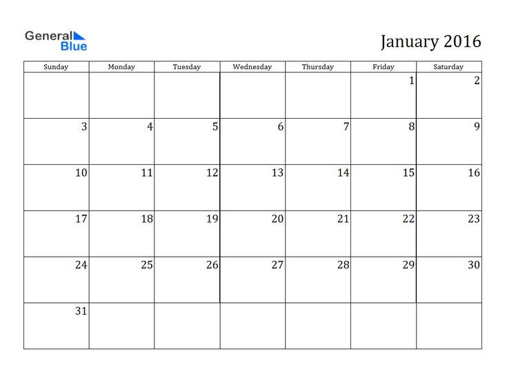 176 best calendar images on Pinterest January calendar, Free
