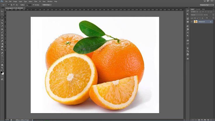 Photoshop Seçim Araçları Kullanımı - Ders 4