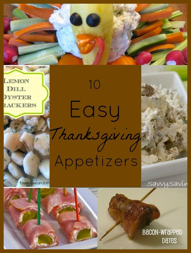 Easy Thanksgiving Appetizers Thanksgiving Easy