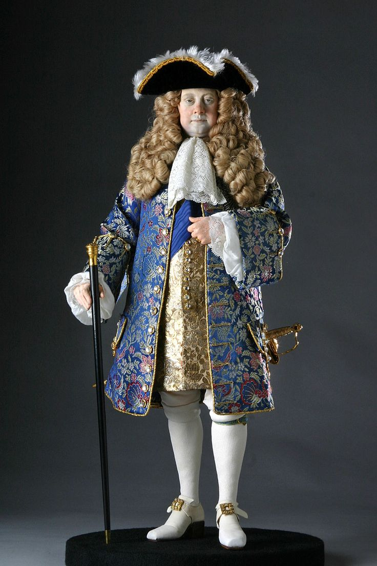 Georg Ludwig, Elector of Hanover was crowned King of Great Britain and King of Ireland in 1714, succeeding Queen Anne. The first Hanoverian monarch of Great Britain and Ireland, he spoke no English; instead, he spoke his native German or French.  Scandal rocked his marriage, when he imprisioned for life his wife Spohia of Celle for a believed indiscretion.