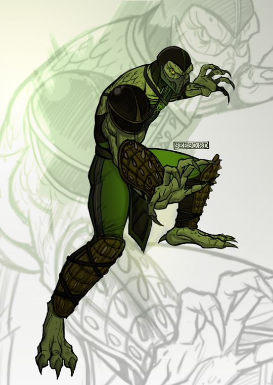 Reptile_MK9 by Seeso2D.deviantart.com