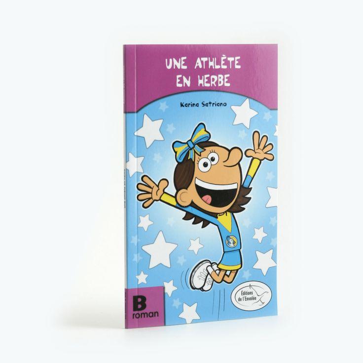 Une athlète en herbe - Roman B - Du plaisir à lire est une collection en littératie conçue pour initier les enfants à la lecture et les aider à devenir des lectrices et des lecteurs autonomes.