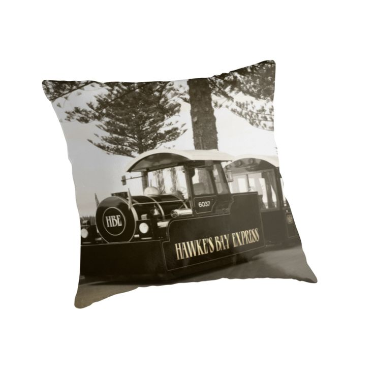 The Hawke's Bay Express along Marine Parade by SeeOneSoul ... as a throw pillow ... cool idea?