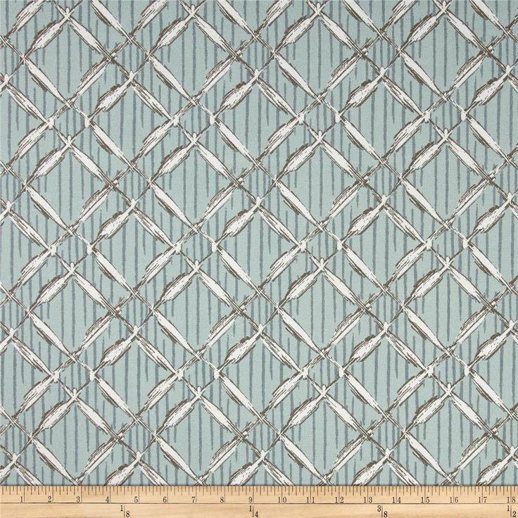Premier Prints Indoor/Outdoor Bora Bora Blue Stone