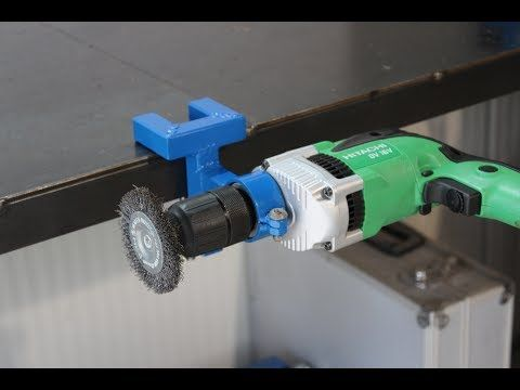 supporto da banco per trapano fai da te (homemade Drill Support Stand Bench) - YouTube