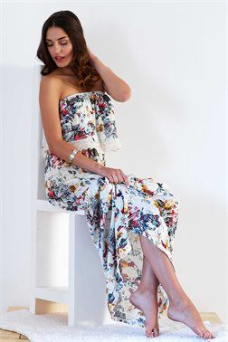 Bohemian Strapless Φόρεμα - ΡΟΥΧΑ -> Φορέματα | Made of Grace