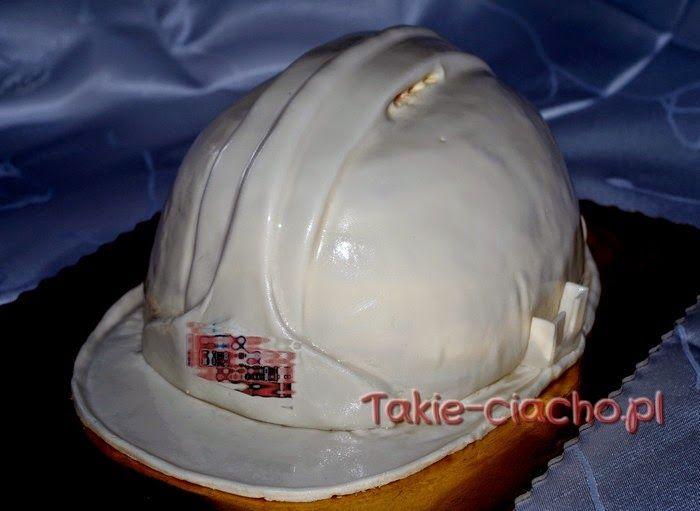 helmet cake