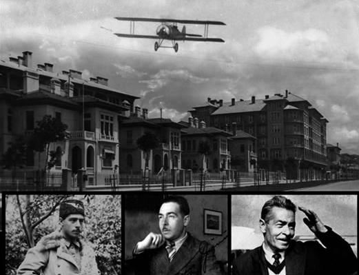 Vecihi Hurkus: he is the first Turkish pilot to shoot down an enemy airplane.