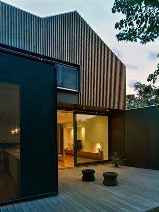 Northcote extension by Wilson Architecture.