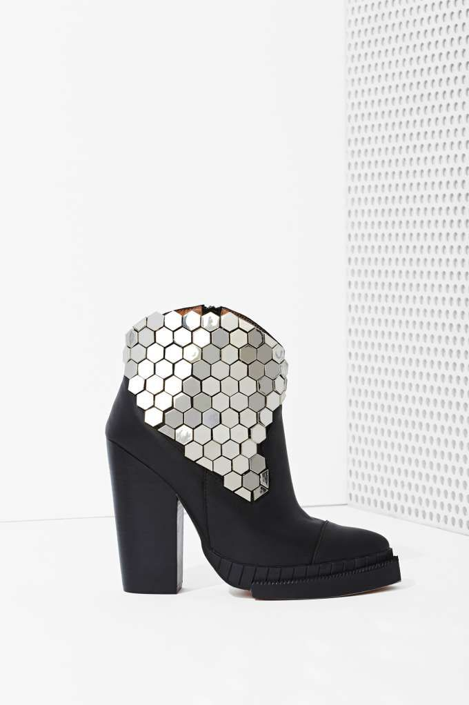 These Jeffrey Campbell Quigley Leather Boots are EVERYTHING- Heels | Jeffrey Campbell | Heels