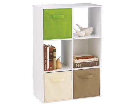 Meuble For Living, 6 compartiments, blanc | Canadian Tire