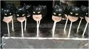 Batman cake pops - not sure I have the skills to make these!!