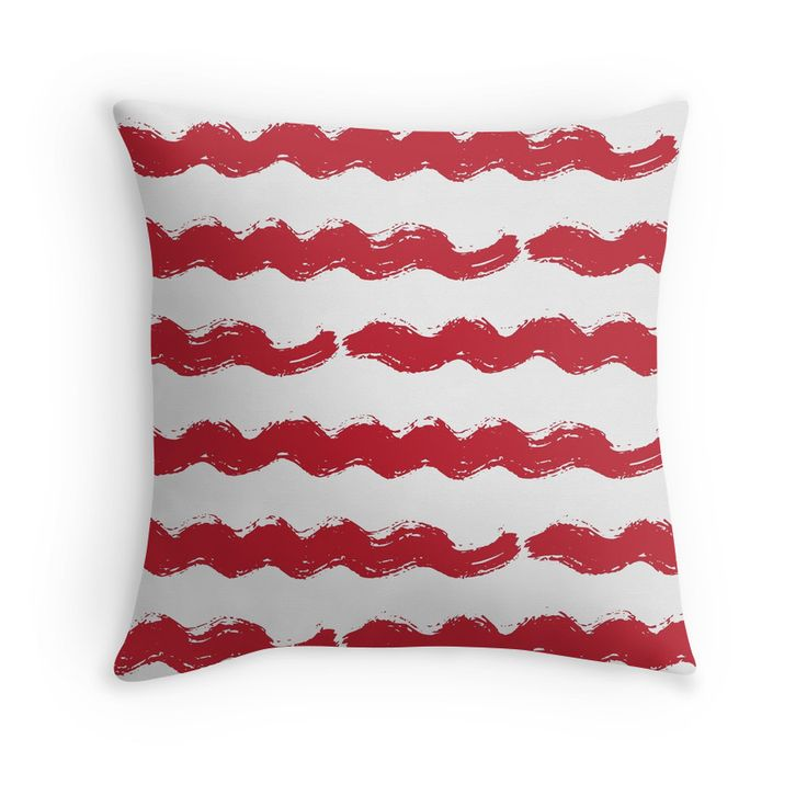 """"""" Hand drawn Grunge Ink Lines"""" Throw Pillows by anastasiaromb   Redbubble"""