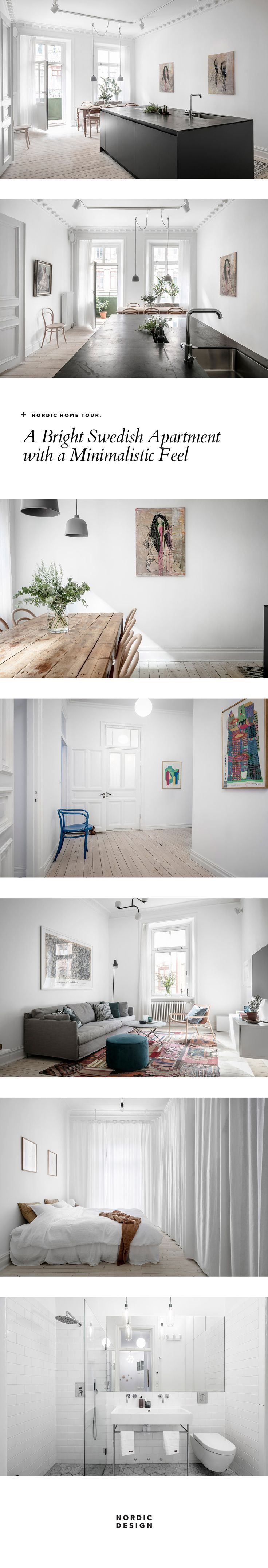 Tour a bright Swedish apartment with a minimalistic feel | nordicdesign.ca