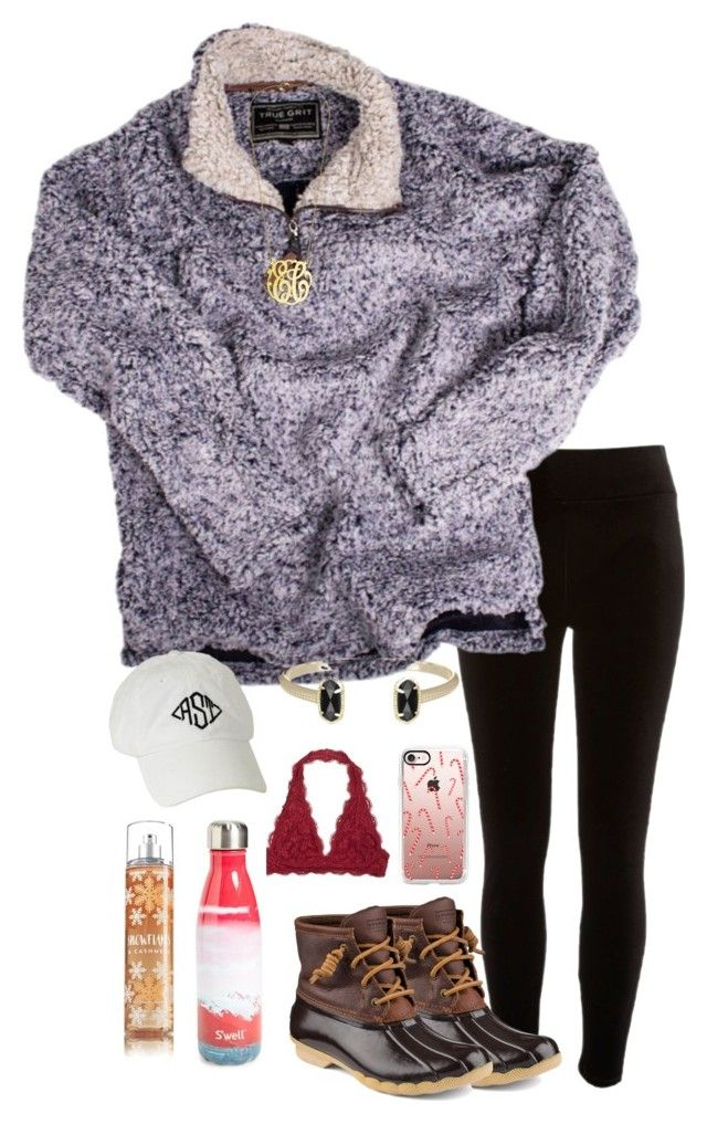 """I want one of these jackets"" by pandapeeper ❤ liked on Polyvore featuring River Island, True Grit, Sperry, Casetify, S'well and Kendra Scott"