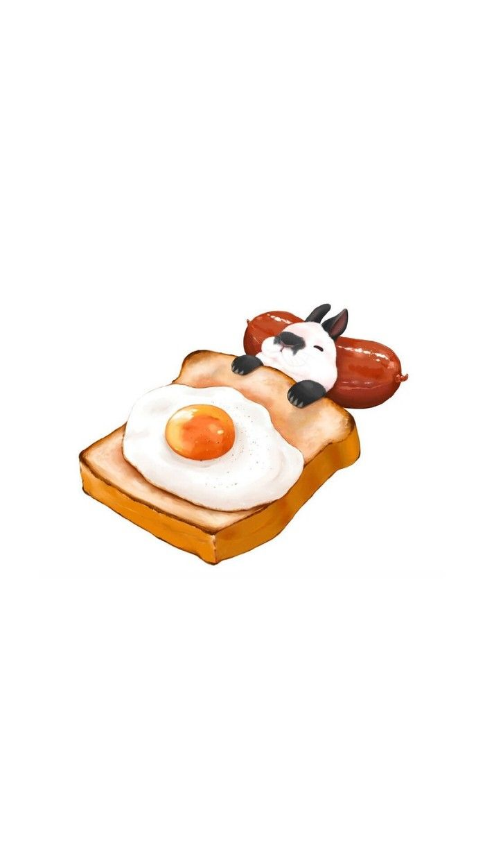 Small pet and food painting together, Meng sense burst table ah.