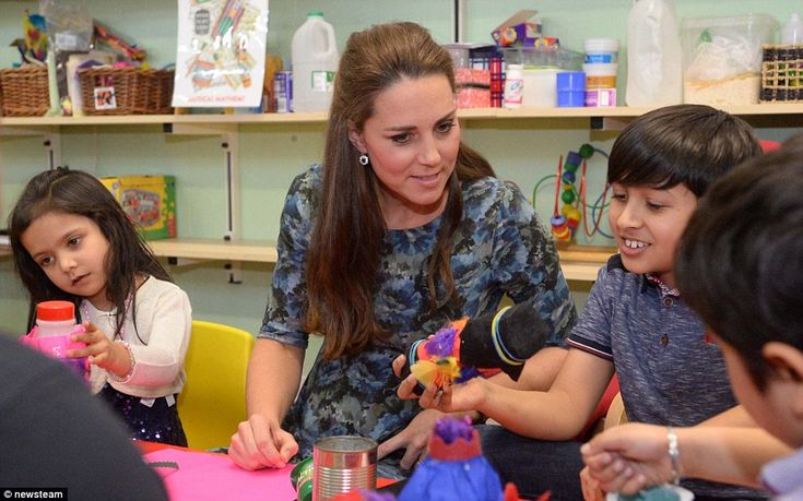 Important work: Action for Children, of which Kate is not a patron, helps some of the UK's...