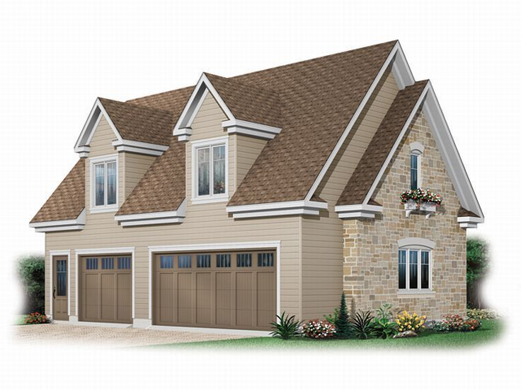 17 best images about 3 car garage plans on pinterest 3 for 2 bay garage plans