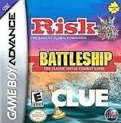 Battleship/Risk/Clue - Game Boy Advance Game