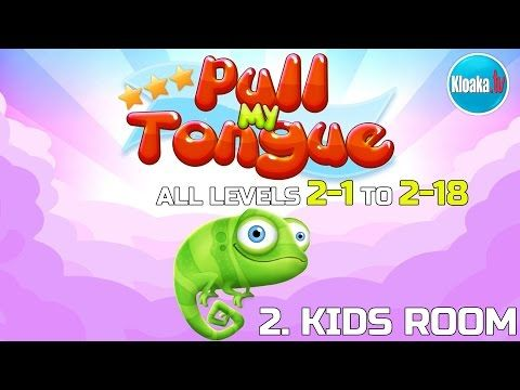 Pull My Tongue - 2. Kids Room - Complete Walkthrough