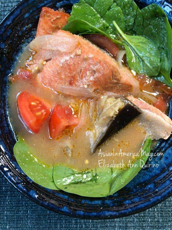 Instant Pot Sinigang Na Salmon Tamarind Stew Recipe Salmon Sinigang Recipe Sinigang Recipe Sinigang