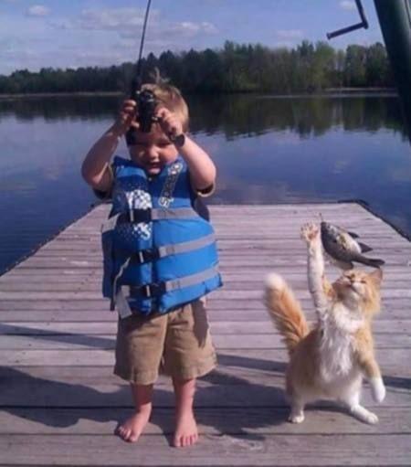 Fishing fun.