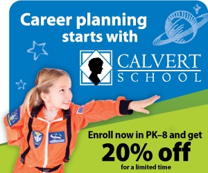 20% off your entire Calvert Homeschool Curriculum Purchase!   Use code FEBWEB212 or give us a call at  (888) 328-8285 today!