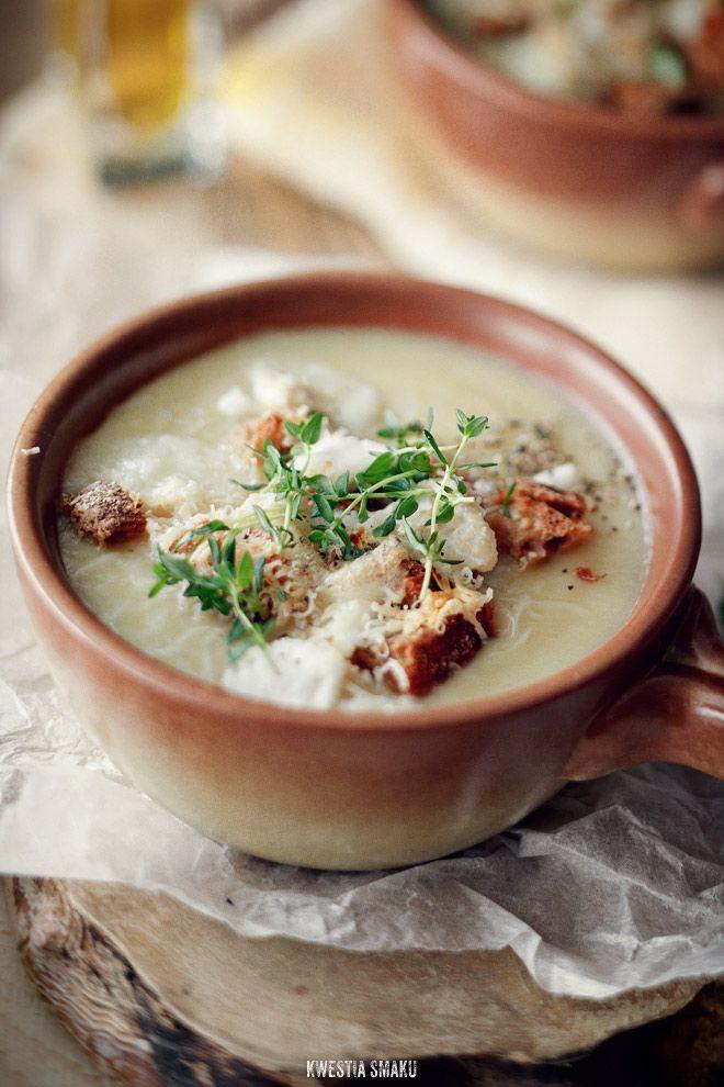 Zupa selerowo-truflowa - Przepis