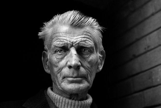 Still intensity … Samuel Beckett. Photograph: Jane Bown