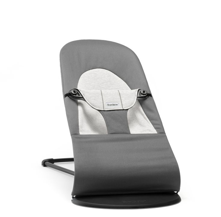 Baby Bjorn Bouncer- Livia LOVES this. It's super light weight so you can move it anywhere in the house. In the bathroom while you're getting ready, the kitchen while you're cooking, etc.