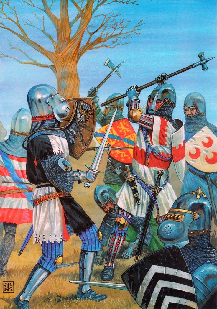 Kurkin - Le combat des Trente (Tinteniac, Ragunel...)