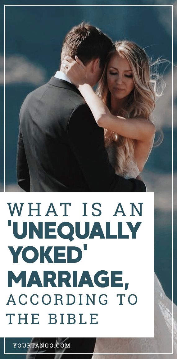 What Is An Unequally Yoked Marriage, According To The
