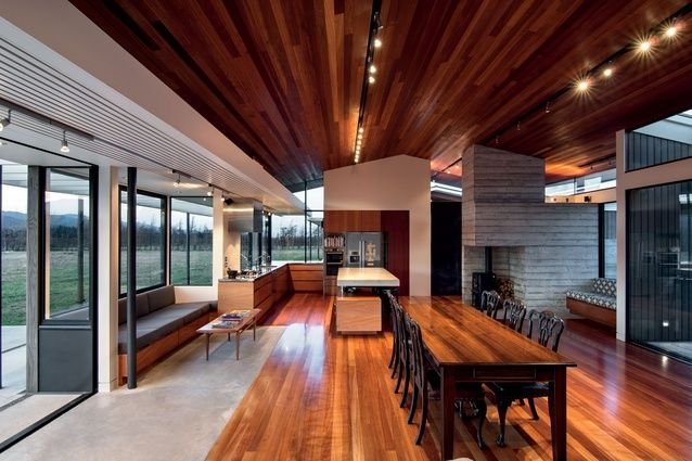 The internal design is reminiscent of the surrounding cultivated landscape | Gerald Parsonson architect