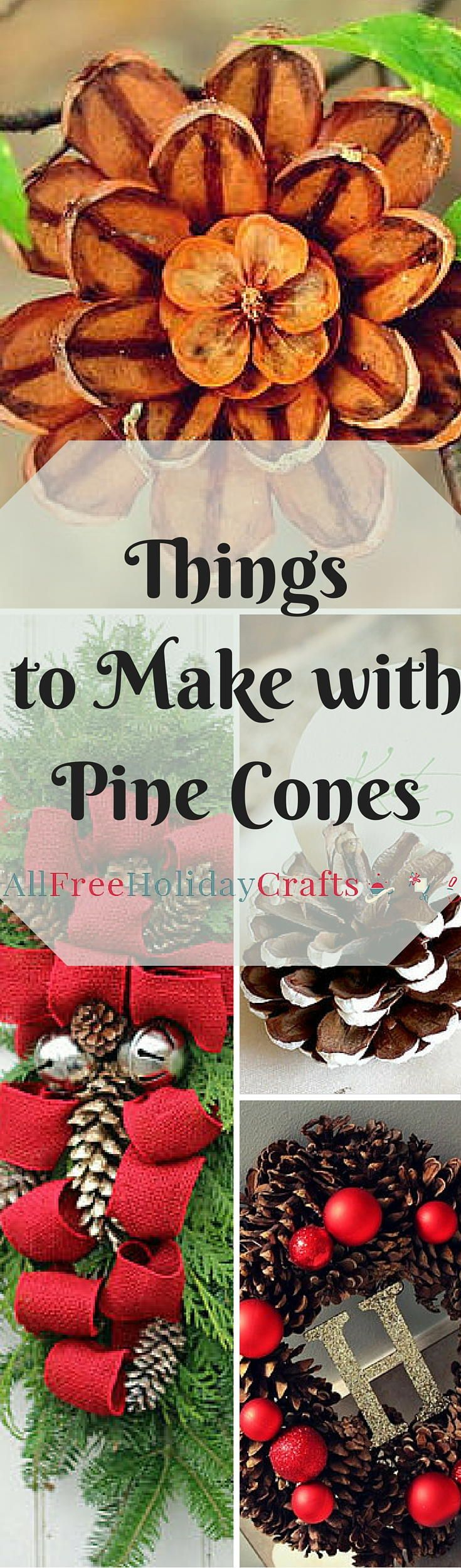 Pine Cone Crafts: 14 Things to Make With Pine Cones | AllFreeHolidayCrafts.com