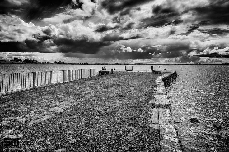 Annaghdown - Pier on Lake Corrib - Annaghdown - Pier on Lake Corrib <a…