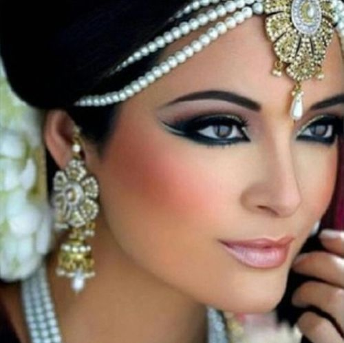 I <3 this wedding make up.i want this look for my wedding:)