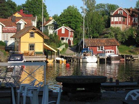 vaxholm, sweden. Prachtig eilandje