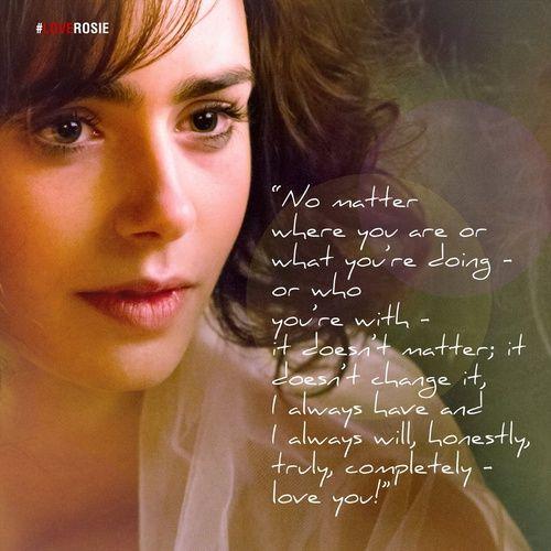 Lily Collins - Love Rosie ❤️