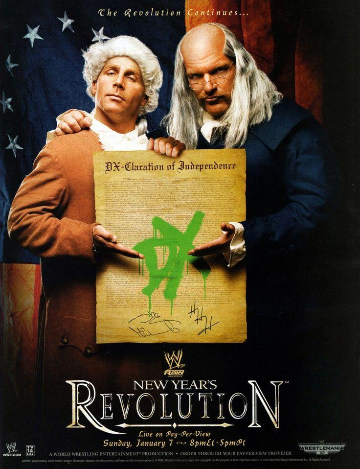 WWE New Year's Revolution 2007