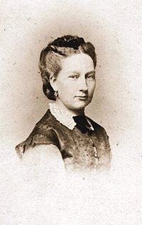 Maria Anne of Portugal (1843 - 1884). Daughter of Maria II and Fernando II. She married George of Saxony and had eight children.