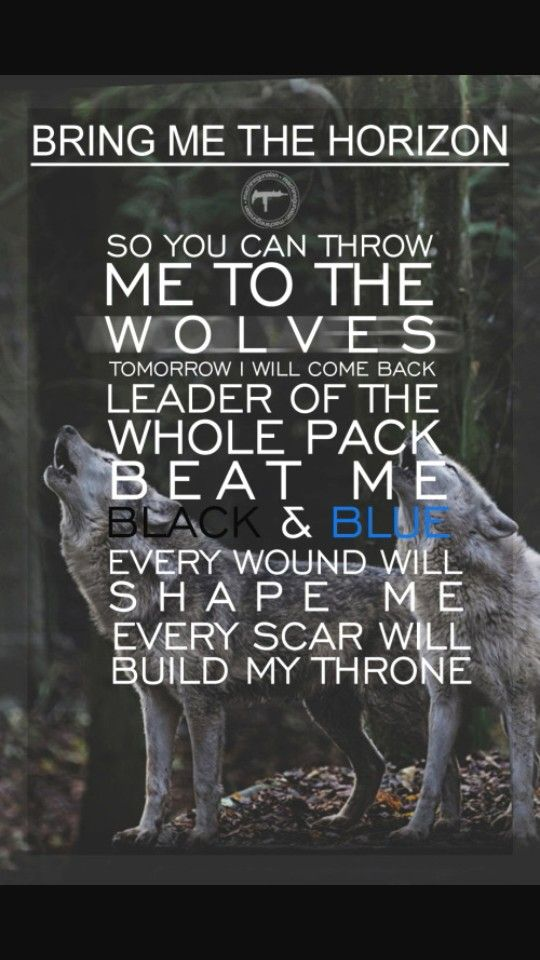 Throne- Bring Me The Horizon