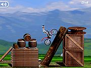 Bike Mania Arena Flash Game. Ride your bike over all the obstacles as you keep from tipping over and crashing. Play Free Fun Bike Games Online.